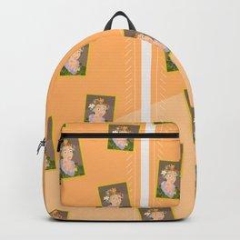 Flora by  Giuseppe Arcimboldo Backpack