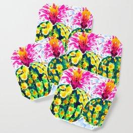 Crazy Hair Day Cactus Coaster