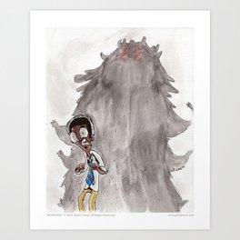 Monsters - 01 Monsters Art Print
