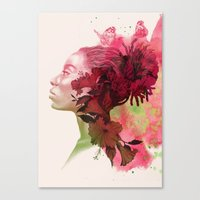 passion Canvas Prints featuring Passion by Magenda