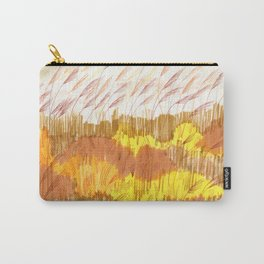 Golden Field drawing by Amanda Laurel Atkins Carry-All Pouch