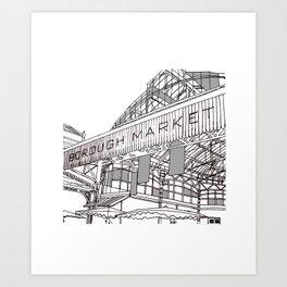 Borough market Art Print