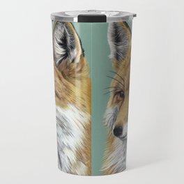 Fox Portrait 01 Travel Mug