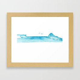 Pearl Beach Framed Art Print
