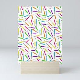 seam rippers Mini Art Print
