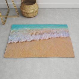 An Ocean Wave Rug