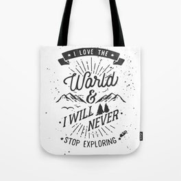 Explorer Tote Bag