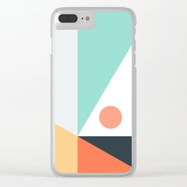 Geometric 1712 Clear iPhone Case