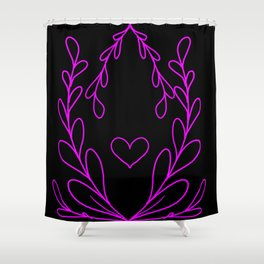 Simple Love 2 Shower Curtain