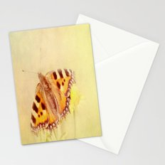 Textured Butterfly Stationery Cards