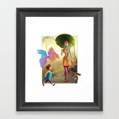 Pet Love Framed Art Print