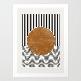 Abstract Modern Poster Art Print