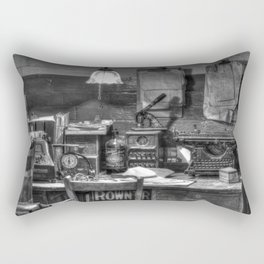 Old office in mono Rectangular Pillow