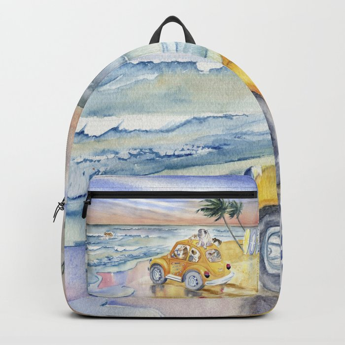 Dogs On Vacation Backpack