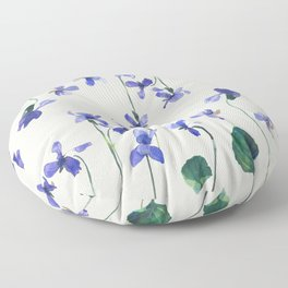 Sweet Violet Floor Pillow