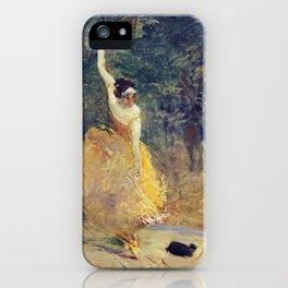 Henri De Toulouse Lautrec - The Spanish Dancer iPhone Case