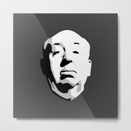 Alfred Hitchcock Metal Print