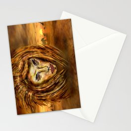 The King of Africa Stationery Cards
