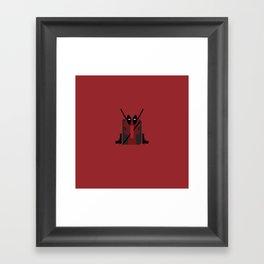 Themed Letters - D Framed Art Print