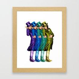 Icon: Michael Framed Art Print