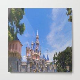 Fantasy Castle Metal Print