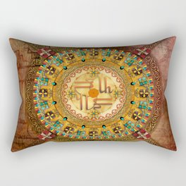 Mandala Armenia Iyp Rectangular Pillow