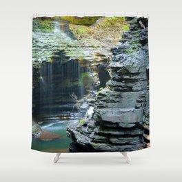 Rainy Glen Shower Curtain