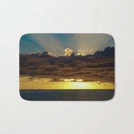 Sunset Soufriere Bath Mat