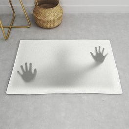 Shower Curtain Silhouette  Rug