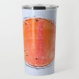 Red Circle Travel Mug