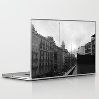 barcelona Laptop & iPad Skins featuring Barcelona. by Michaëlis Moshe