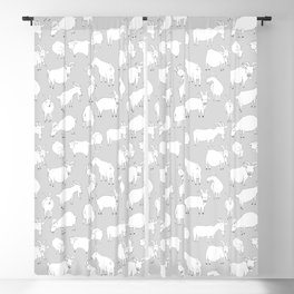 Charity fundraiser - Grey Goats Blackout Curtain
