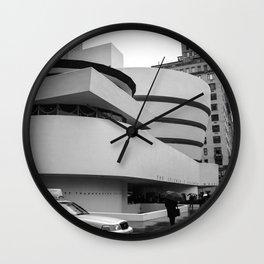 New York, Solomon R Guggenheim Museum, Frank Lloyd Wright Wall Clock