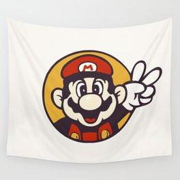 Mario Peace Wall Tapestry
