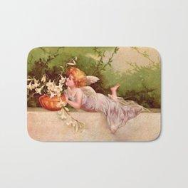 Vintage Garden Fairy Bath Mat