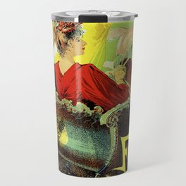 Festival for the poor of France and Russia 1892 Travel Mug
