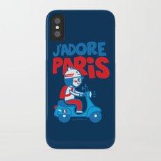 J´Adore Paris iPhone X Slim Case