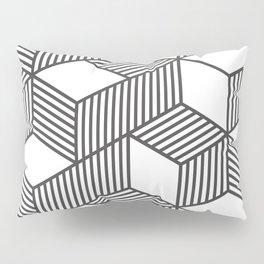 Geometric Cube 01 Pillow Sham
