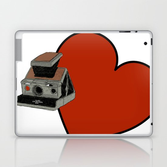 POLAROID SX70 Laptop & iPad Skin