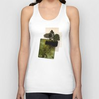 island Tank Tops featuring ISLAND by oppositevision