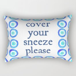 Cover Your Sneeze Please Rectangular Pillow