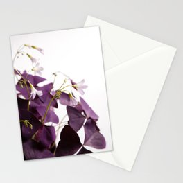 Oxalis triangularis  |  The Houseplant Collection Stationery Cards