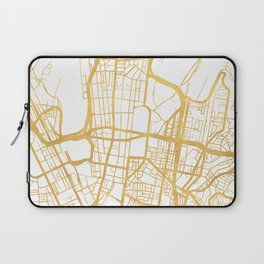 SYDNEY AUSTRALIA CITY STREET MAP ART Laptop Sleeve