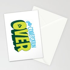 Conversation Over Stationery Cards