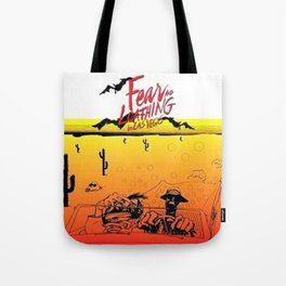 Fear and Loathing in Las Vegas- Desert Tote Bag