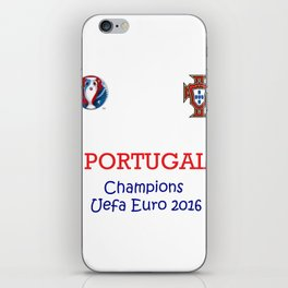 Champion Uefa Euro 2016 Portugal iPhone Skin