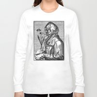 bee Long Sleeve T-shirts featuring Bee by DIVIDUS
