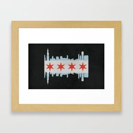 Chicago Pride Framed Art Print