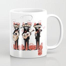 """Dios los muertos font """"Щ"""" Coffee Mug"""