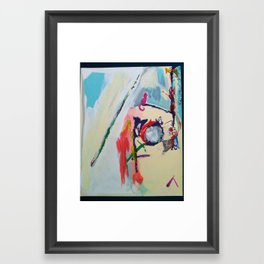 These Cats are Friends Framed Art Print